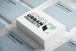 Jones Urban projects brand corporate ID design maitland hunter valley newcastle