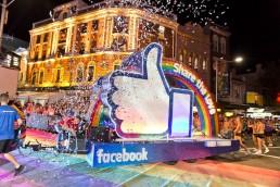 Facebook Mardi Gras 2016