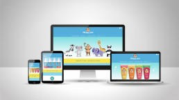 Monkey Max and Friends responsive website