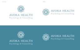 Avoka Health Psychology counselling gold coast northern nsw brand design